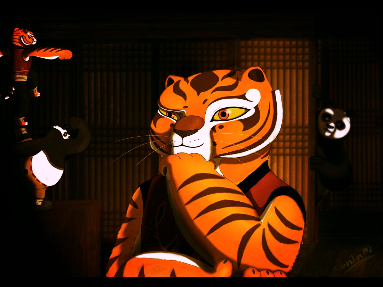 Kung Fu Panda Pin-Up 2 by Jackademus on DeviantArt