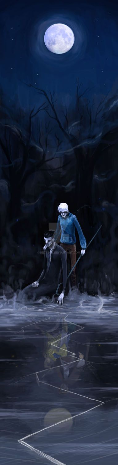 jack frost and pitch black kiss - photo #45
