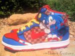 Sonic 'Light Speed' dunks -tWo