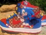 Sonic 'Light Speed'dunks-seVen