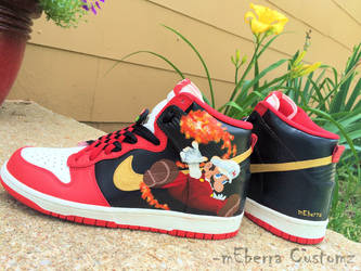 Fire Flame Hi's- fivE by meberra