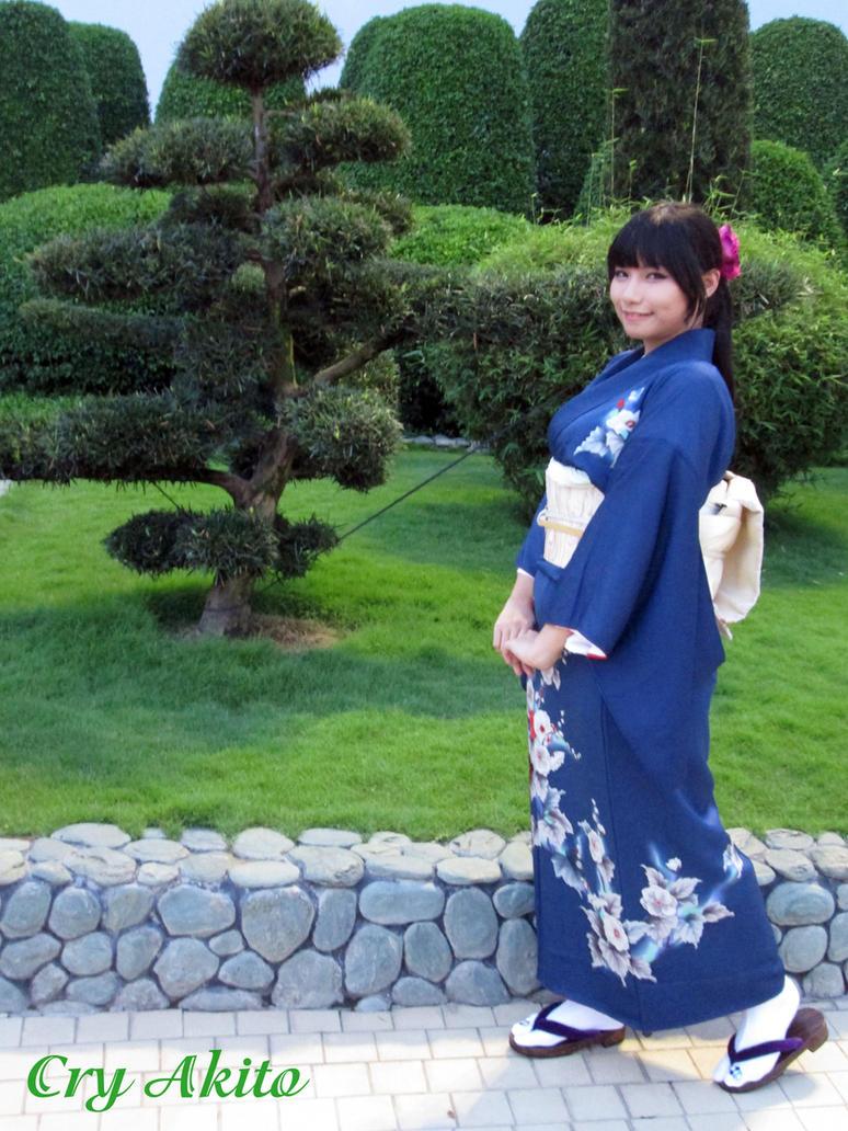 Blue Tsukesage by pipubanh