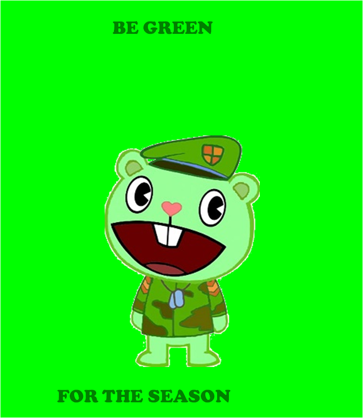 Flippy's St. Patrick's Day Message by MechafetusMan
