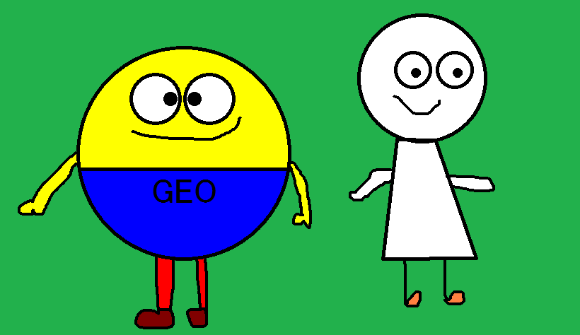 Geo Guy and Geo Jones by MechafetusMan