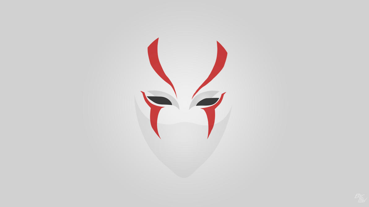 Phantom Mask Wallpaper By EricLBW