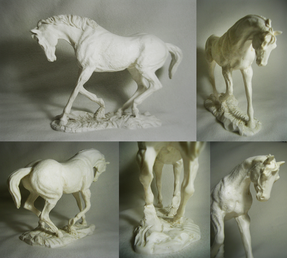 Horse Scuplture by JuanCarlosRa