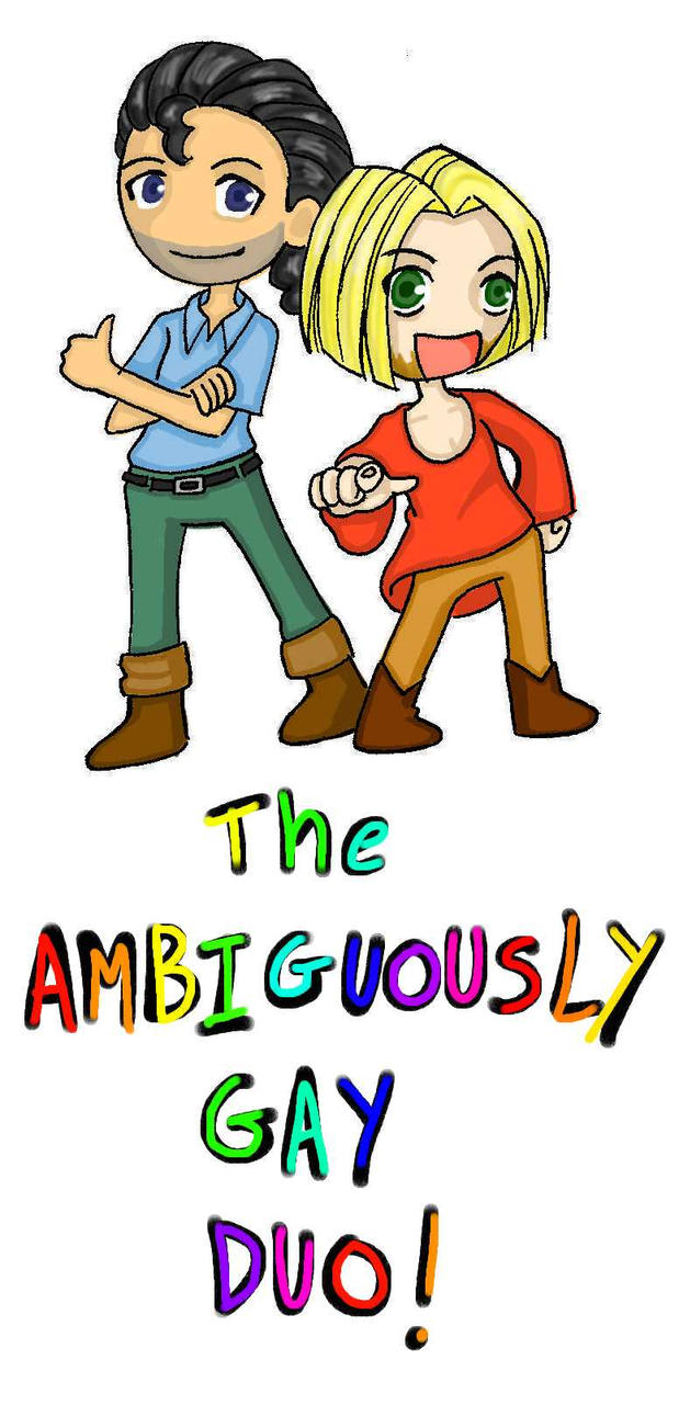 The Ambiguously Gay Duo by ~lilacbird on deviantART