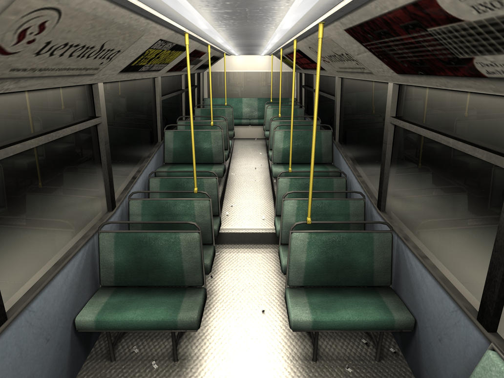 Bus Interior High Res By Nowin3d On Deviantart