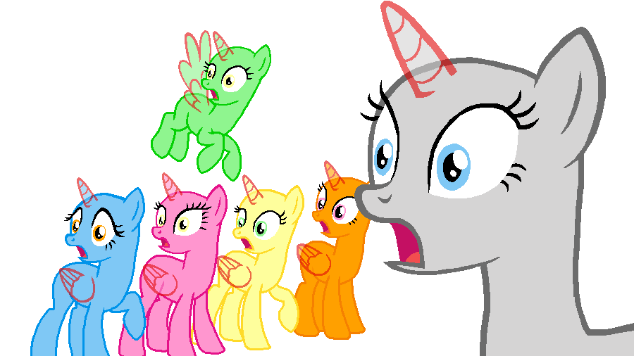 Mane 6 Say What 20 By Beanbases On Deviantart