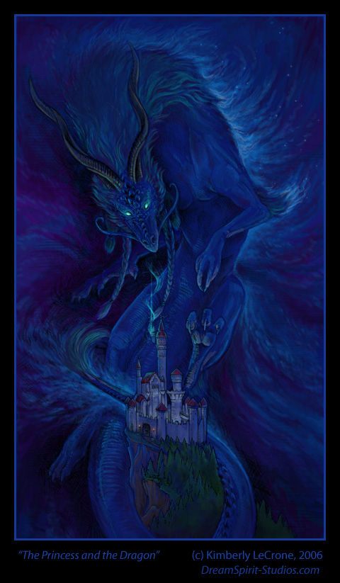 The Princess and the Dragon by Dreamspirit