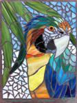 Catalina Macaw Mosaic WIP - 02