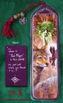 Green Man Coyote Fae Bookmark