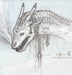 Ornate Dragon Sketch