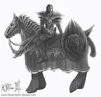 Richard and Lady Sketch by Dreamspirit
