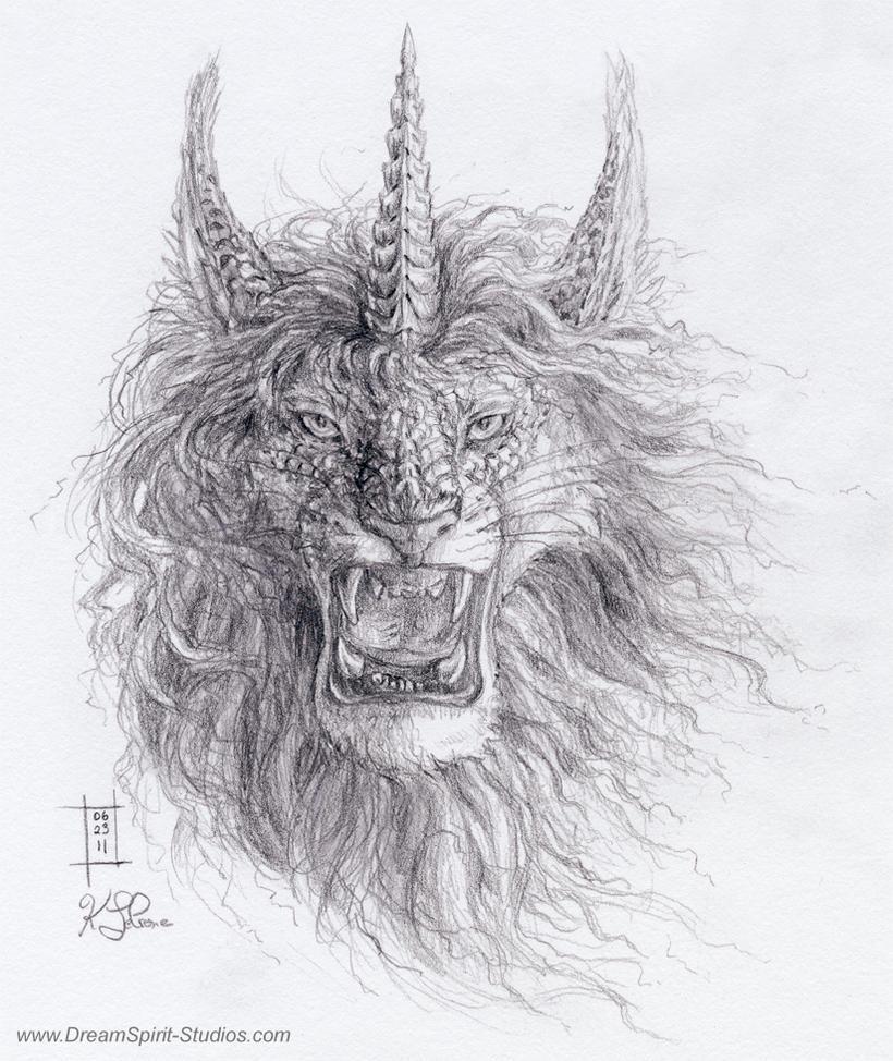 Angered Loirin Sketch by Dreamspirit
