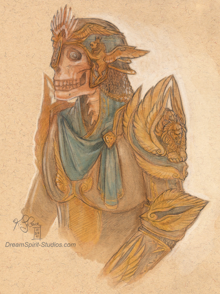 Richard Toned Sketch by Dreamspirit