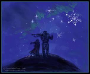 Snow Stars Art and Prose by Dreamspirit