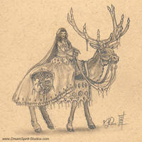 Elk Princess by Dreamspirit