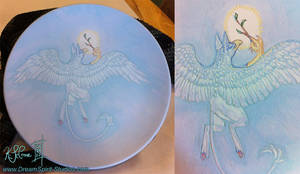 Gryphon Plate - Unfired by Dreamspirit