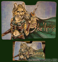 Sha'leis Conbadge Commission by Dreamspirit