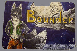 Bounder Conbadge Commission by Dreamspirit