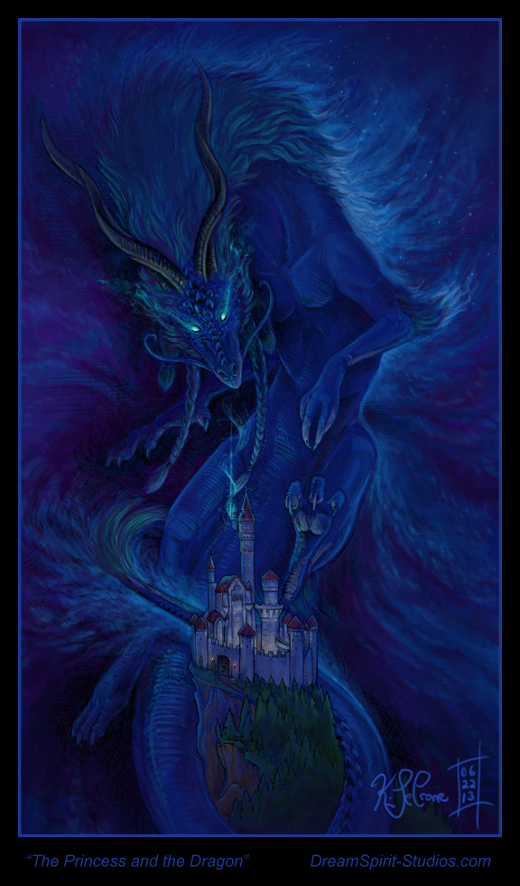 The Princess and the Dragon -2013 Update by Dreamspirit