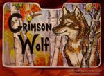 Crimson Wolf:CompletedConbadge