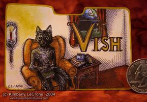 Vish: Completed Conbadge by Dreamspirit