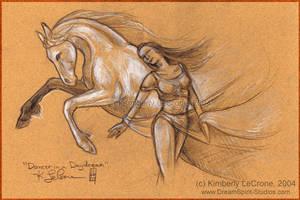 Dancer in a Daydream - sketch by Dreamspirit