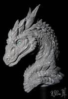 Steinir Dragon Sculpture (Walkthrough Blog) by Dreamspirit