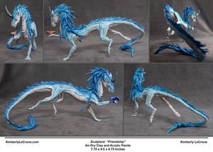 'Friendship' - Dragon Sculpture