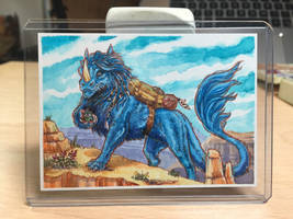 Tugrik ACEO Commission by Dreamspirit