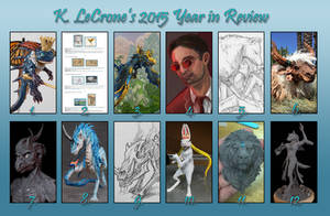 K. LeCrone's 2015 Year in Review by Dreamspirit