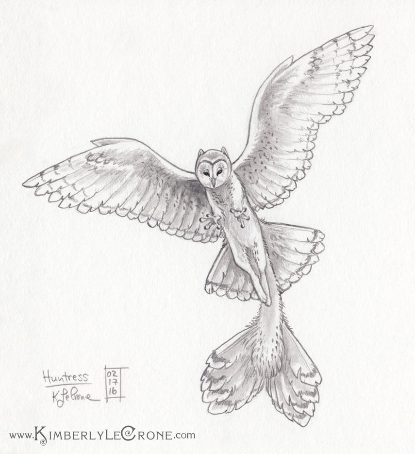 30 Day Story-Sketch Challenge: Day 16: Huntress by Dreamspirit