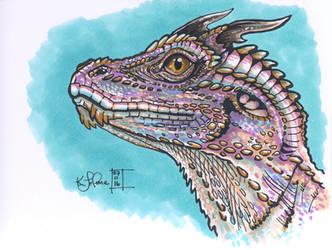 Dragon Lizard by Dreamspirit