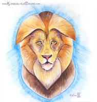 Stylized Lion by Dreamspirit