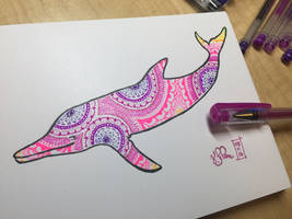 Mandala Dolphin by Dreamspirit