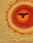 Sun Raven by Dreamspirit