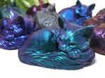 Color-Shifting Blind-Boxed Mandala Kitties! by Dreamspirit