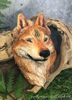 Gemstone Wolf by Dreamspirit