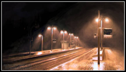 FMA: ToT: Amestris Train Depot by Dreamspirit