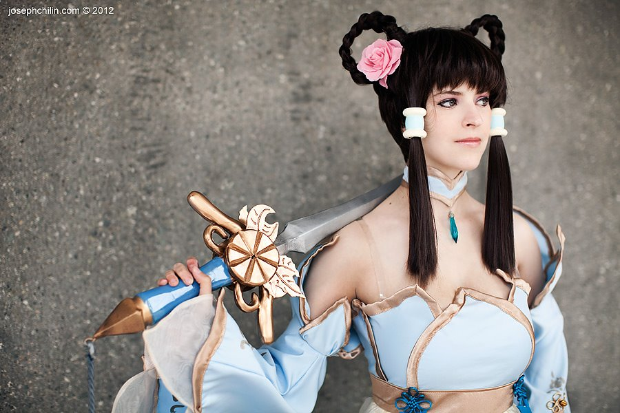 Leixia Cosplay. 100 feet of blue. by JFamily