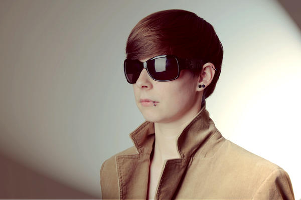 I wear my sunglasses at night... by RoteMamba