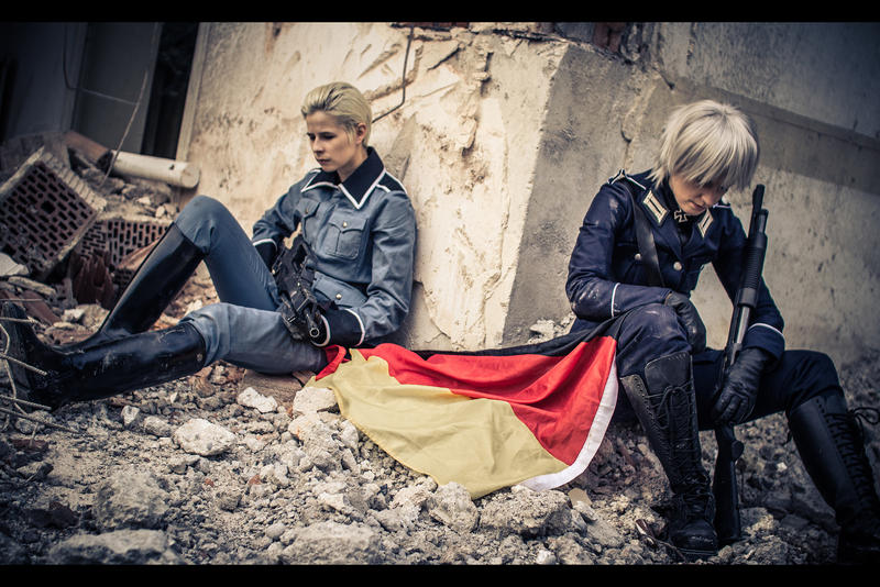 Hetalia - Never surrender by RoteMamba