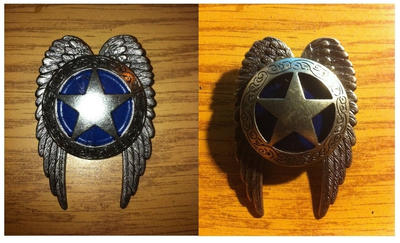 Sky Marshal Badge by Steambigbear