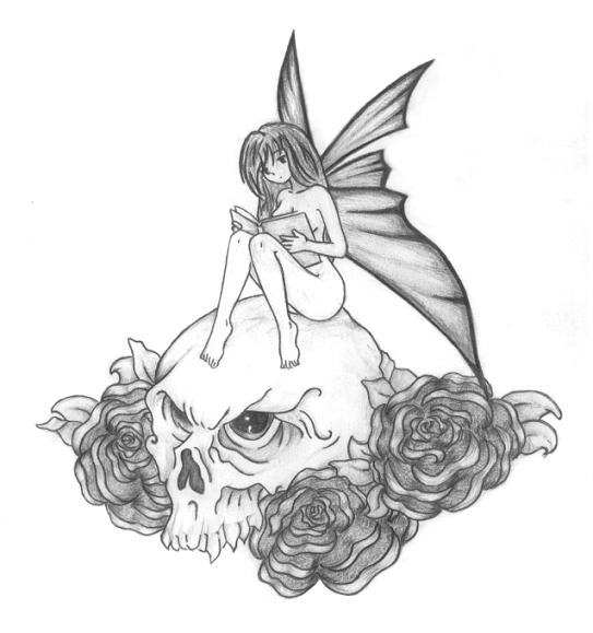 Tattoo gallery by bernard mccarthy for Skull fairy tattoos