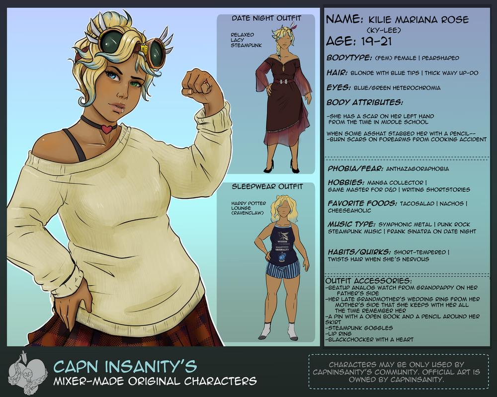 Interactive OC | Kylie by CapnInsanity