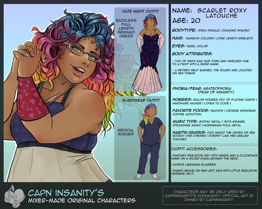 Interactive OC | Scarlet by CapnInsanity