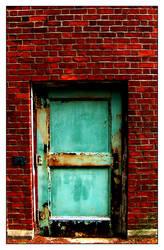 Eroding Door by robcwilliams