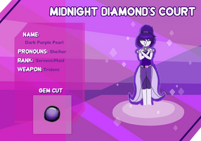 Md S Court - Dark Purple Pearl by LollyLink